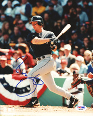 Russ Davis Autographed 8x10 Photo Seattle Mariners PSA/DNA #Q93586