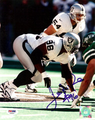 Darrell Russell Autographed 8x10 Photo Oakland Raiders PSA/DNA #AA36925