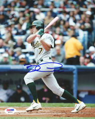 Bobby Crosby Autographed 8x10 Photo Oakland A's PSA/DNA #Q93541