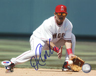 Orlando Cabrera Autographed 8x10 Photo Anaheim Angels PSA/DNA #Q93383