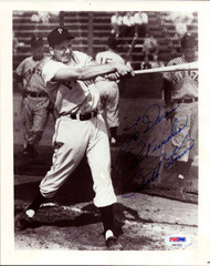 """Ralph Kiner Autographed 8x10 Photo Pittsburgh Pirates """"To Darin Best Wishes"""" PSA/DNA #AB51552"""