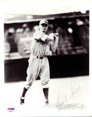 Hal Lee Autographed 8x10 Photo Boston Braves PSA/DNA #AB51585
