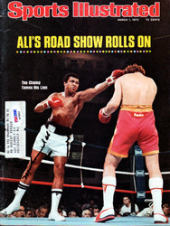Muhammad Ali Autographed Sports Illustrated Magazine Vintage PSA/DNA #B75552