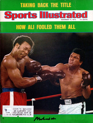 Muhammad Ali Autographed Sports Illustrated Magazine Vintage PSA/DNA #E34608