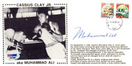 Muhammad Ali Autographed First Day Cover Vintage PSA/DNA #E47088