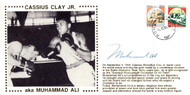 Muhammad Ali Autographed First Day Cover Vintage PSA/DNA #H47288