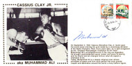 Muhammad Ali Autographed First Day Cover Vintage PSA/DNA #H47577