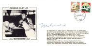 Muhammad Ali Autographed First Day Cover Vintage PSA/DNA #H47578