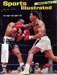 Muhammad Ali Autographed Sports Illustrated Magazine Vintage PSA/DNA #H58753