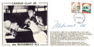 Muhammad Ali Autographed First Day Cover Vintage PSA/DNA #I01292