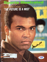 Muhammad Ali Autographed Sports Illustrated Magazine Cover PSA/DNA #AB04638