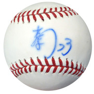 Nori Aoki Autographed Official MLB Baseball In Kanji Seattle Mariners PSA/DNA #AB49708
