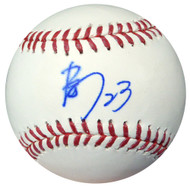 Nori Aoki Autographed Official MLB Baseball In Kanji Seattle Mariners PSA/DNA #AB49709