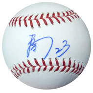 Nori Aoki Autographed Official MLB Baseball In Kanji Seattle Mariners PSA/DNA #AB49714