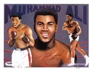 Muhammad Ali Autographed 8x10 Photo PSA/DNA #Z07669