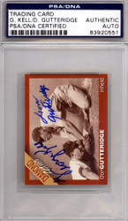 George Kell & Don Gutteridge Autographed Trading Card PSA/DNA #83920551