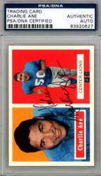 Charlie Ane Autographed 1994 Topps Archives Card #56 Detroit Lions PSA/DNA #83920627