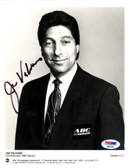 Jim Valvano Autographed 7x9 Photo N.C. State Wolfpack PSA/DNA #AB86760