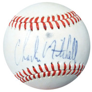 Charlie Mitchell Autographed Official AL Baseball Red Sox PSA/DNA #AC23257