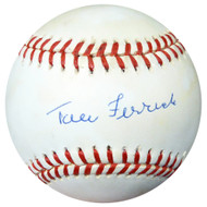 Tom Ferrick Autographed Official AL Baseball Yankees PSA/DNA #AC23152
