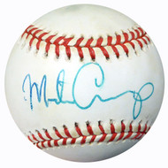 Mike Carp Autographed Official AL Baseball Red Sox PSA/DNA #AC23101