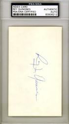 Rey Quinones Autographed 3x5 Index Card Boston Red Sox PSA/DNA #83936212