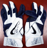 Robinson Cano Autographed Pair of Game Used Nike Batting Gloves with Signed Certificate SKU #113654
