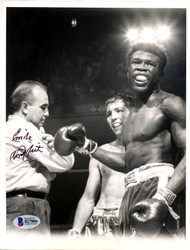 Emile Griffith Autographed 7x9 Photo Beckett BAS #B27886
