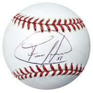 Felix Hernandez Autographed Official MLB Baseball Seattle Mariners Beckett BAS #B27478