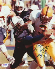 Lance Briggs Autographed 8x10 Photo Arizona Wildcats PSA/DNA #Q97613