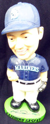 Kazuhiro Sasaki Autographed Seattle Mariners Bobblehead Beckett BAS #I11625