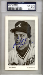Rich Behenna Autographed 3x5 Photo Atlanta Braves PSA/DNA #83964076