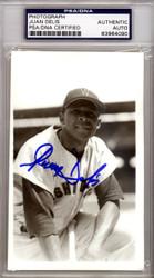 Juan Delis Autographed 3.5x5.5 Photo Washington Senators PSA/DNA #83964090