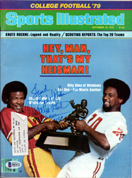 "Charles White Autographed Sports Illustrated Magazine USC Trojans ""To Stan"" Beckett BAS #B63672"