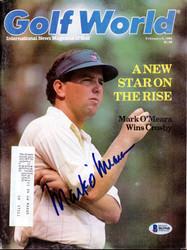 Mark O'Meara Autographed Sports Illustrated Magazine Beckett BAS #B63940
