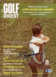Don January Autographed Golf Digest Magazine Beckett BAS #B63987
