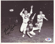 Bill McColl Autographed 7x9 Photo Chicago Bears PSA/DNA #Q96408