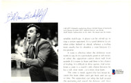 Butch Van Breda Kolff Autographed 8x5 Magazine Page Photo New York Knicks Beckett BAS #C01934