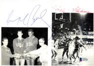 Mahdi Abdul-Rahman (Walt Hazzard) & Dave Bing Autographed 8x6 Magazine Page Photo Team USA Beckett BAS #C01938