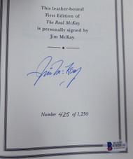 Jim McKay Autographed Hardback Book #/1250 Beckett BAS #C02016
