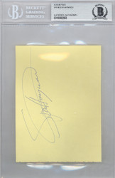 Spencer Haywood Autographed 4x5.5 Album Page Seattle Super Sonics Beckett BAS #10002893