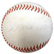 Hank Aaron Autographed Official Rawlings Baseball Atlanta Braves Vintage 1968 Signature Beckett BAS #A06380