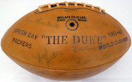 1963 Green Bay Packers Team Autographed Official Wilson Football With 45 Signatures Including Vince Lombardi & Bart Starr PSA/DNA #AB03597