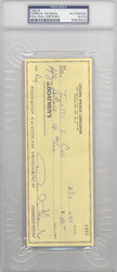 Derrick Thomas Autographed 3x8 Check Kansas City Chiefs PSA/DNA #83805522
