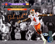 Sale!! Deshaun Watson Autographed 8x10 Photo Clemson Tigers Beckett BAS Stock #126458