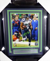 Doug Baldwin Autographed Framed 8x10 Photo Seattle Seahawks MCS Holo Stock #126530