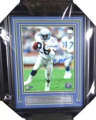 Curt Warner Autographed Framed 8x10 Photo Seattle Seahawks MCS Holo Stock #126587