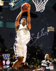 Brandon Roy Autographed 16x20 Photo Washington Huskies PSA/DNA Stock #4075