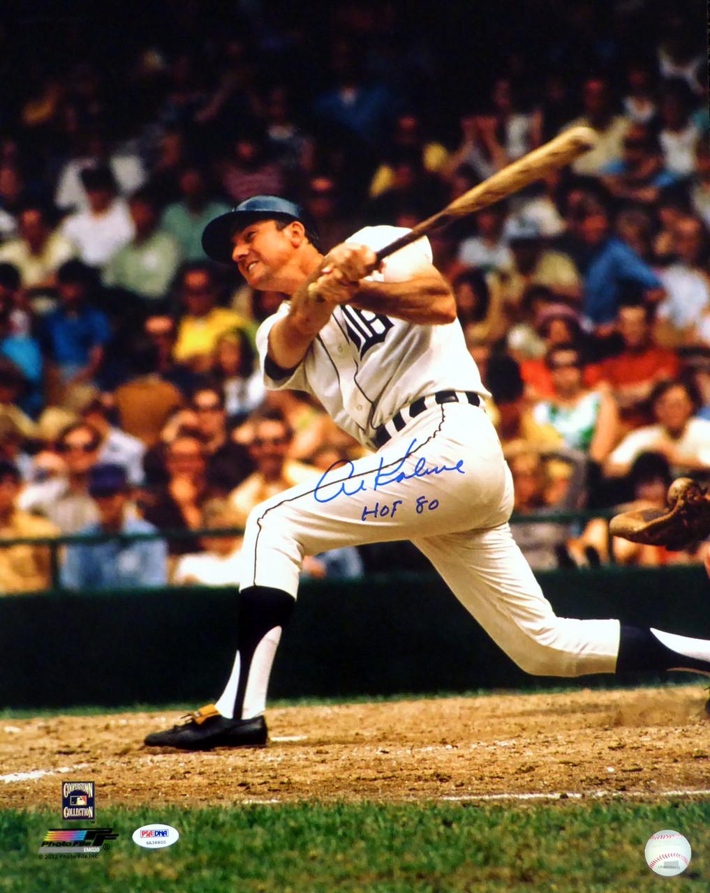 official photos ef823 371e4 Al Kaline Autographed 16x20 Photo Detroit Tigers