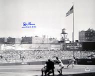 "Don Larsen Autographed 16x20 Photo New York Yankees ""WSPG 10-8-56"" PSA/DNA Stock #16853"